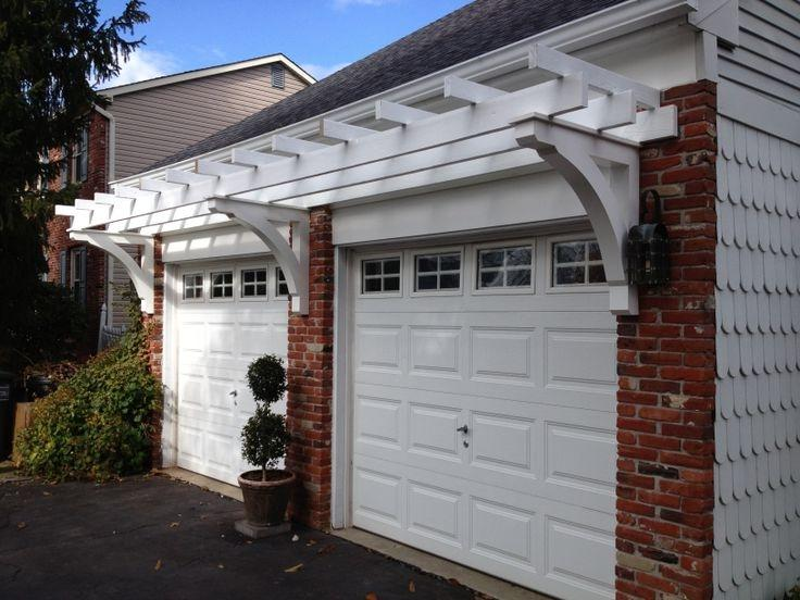 Garage pergola photos