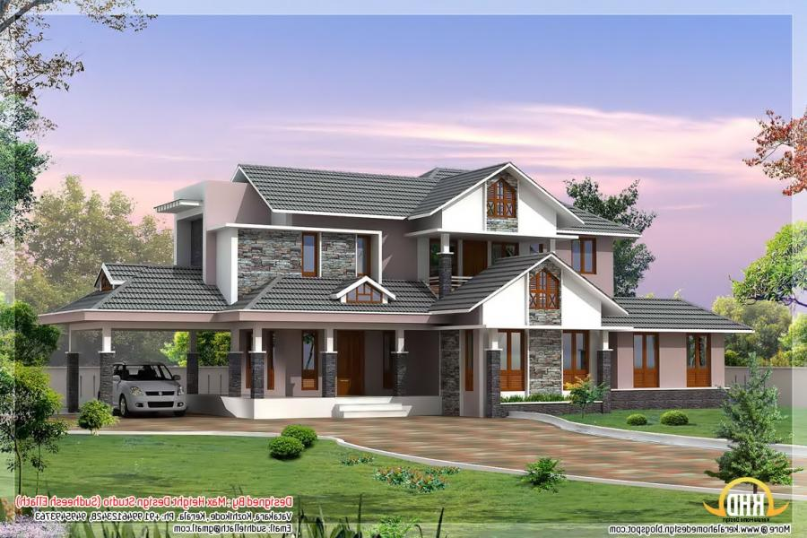 Best house photos kerala for Kerala dream home photos