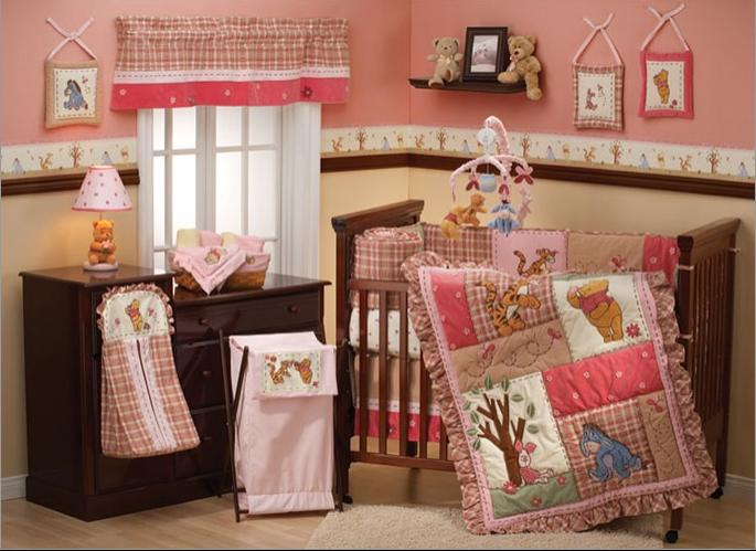 Winnie pooh baby room photos - Cute winnie the pooh baby furniture collection ...