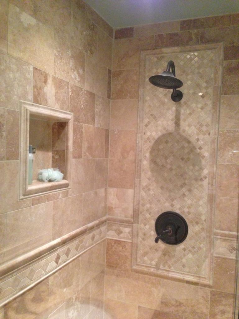 Custom Bathroom Tile : Custom bathroom tile photos