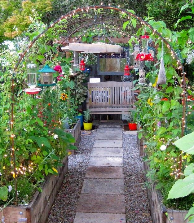 Kitchen Garden Designs Photos