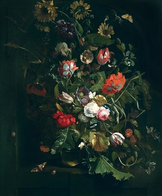 An hour for art in the world of flowers-European Art Gallery of...