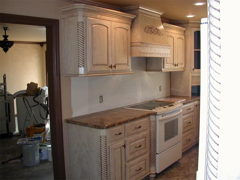 Pickled Oak Kitchen Cabinets Photos