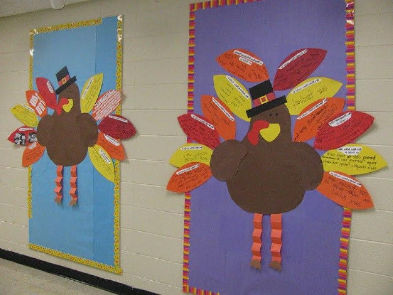 Thanksgiving Hallway Display Idea u0026middot; «
