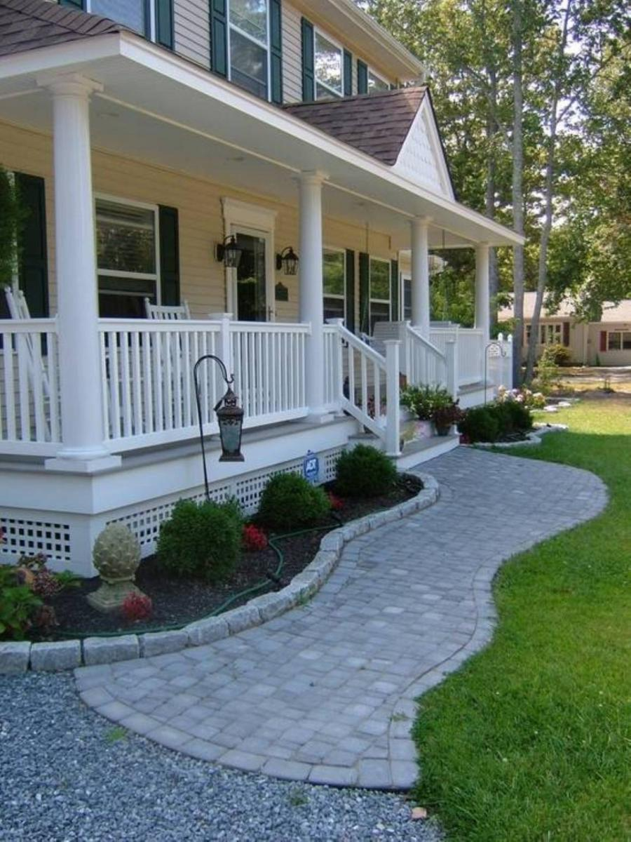 Photo Of A Country Front Porch