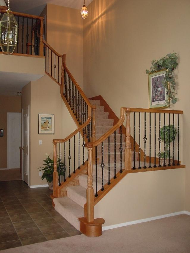 For more on framing a stair case, read Johnu article...
