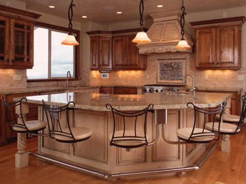 Kitchen Island Designs With Seating Photos