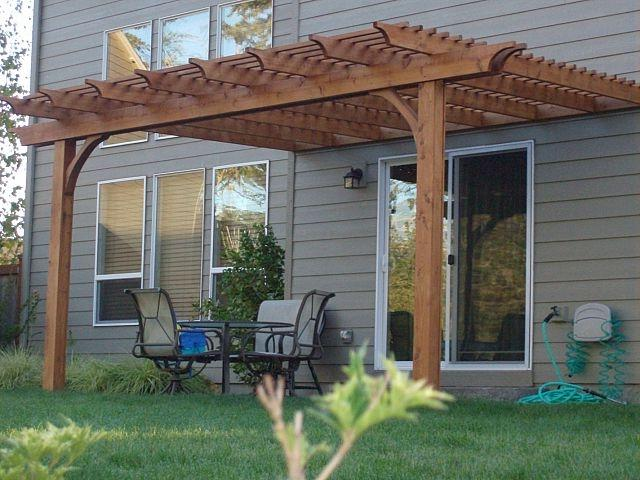 Cedar pergolas photos for Southwest pergola
