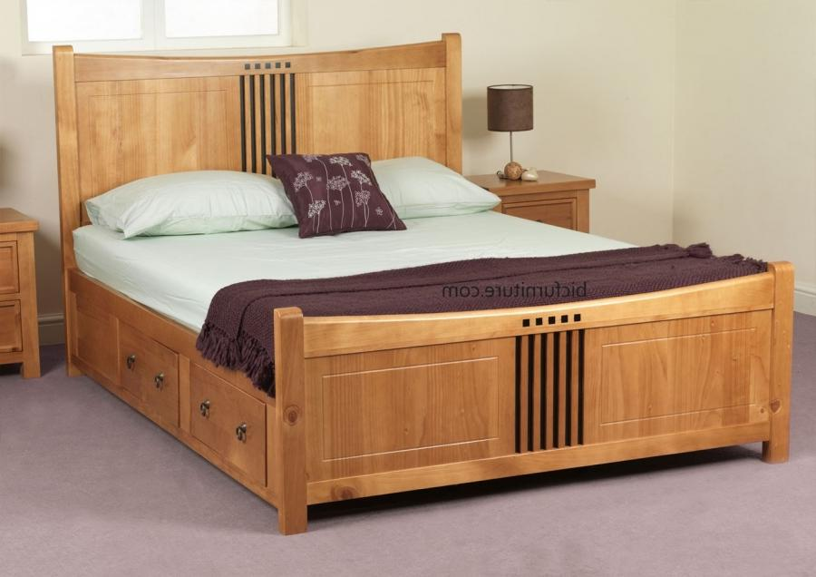 Indian Double Bed Photos