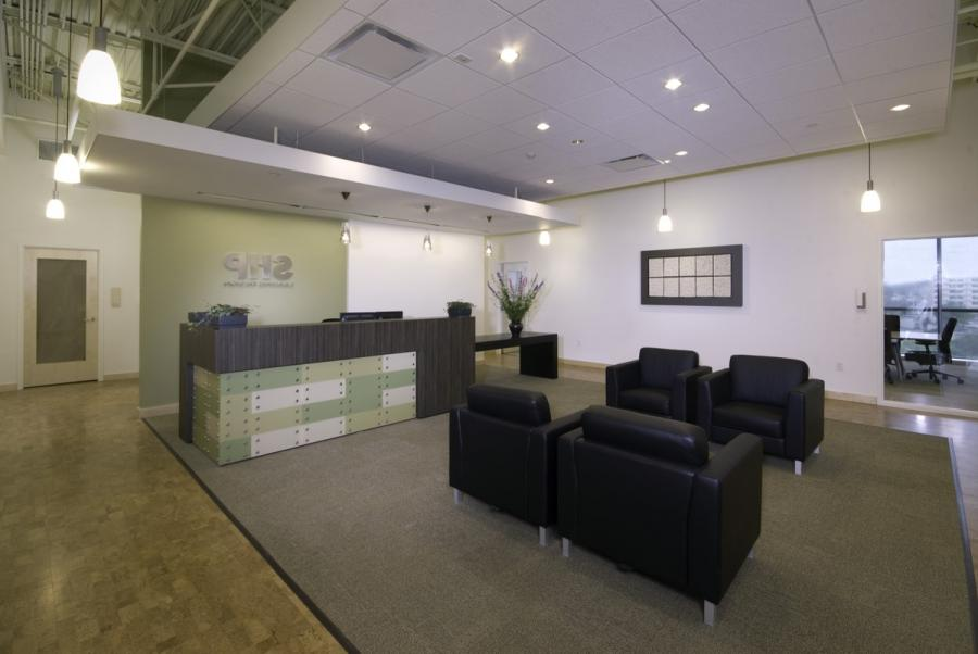 Corporate office interior design photos for Award winning office interiors