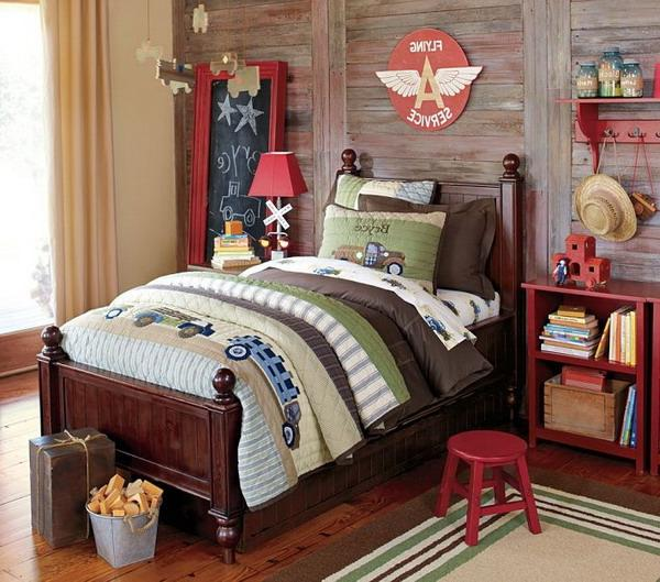 Country bedroom decorating photos for Boys country bedroom ideas