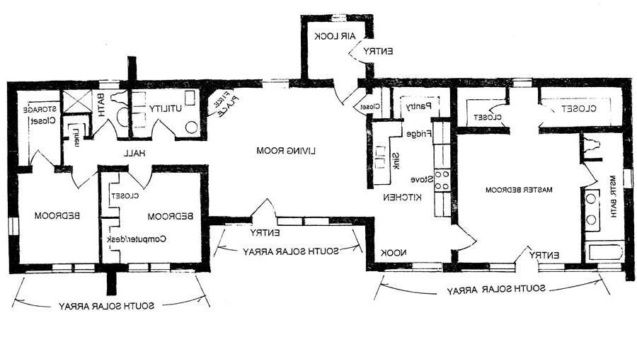Adobe house plans with photos for Adobe home floor plans