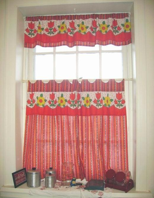 Kitchen curtain patterns photos - Kitchen valance patterns ...