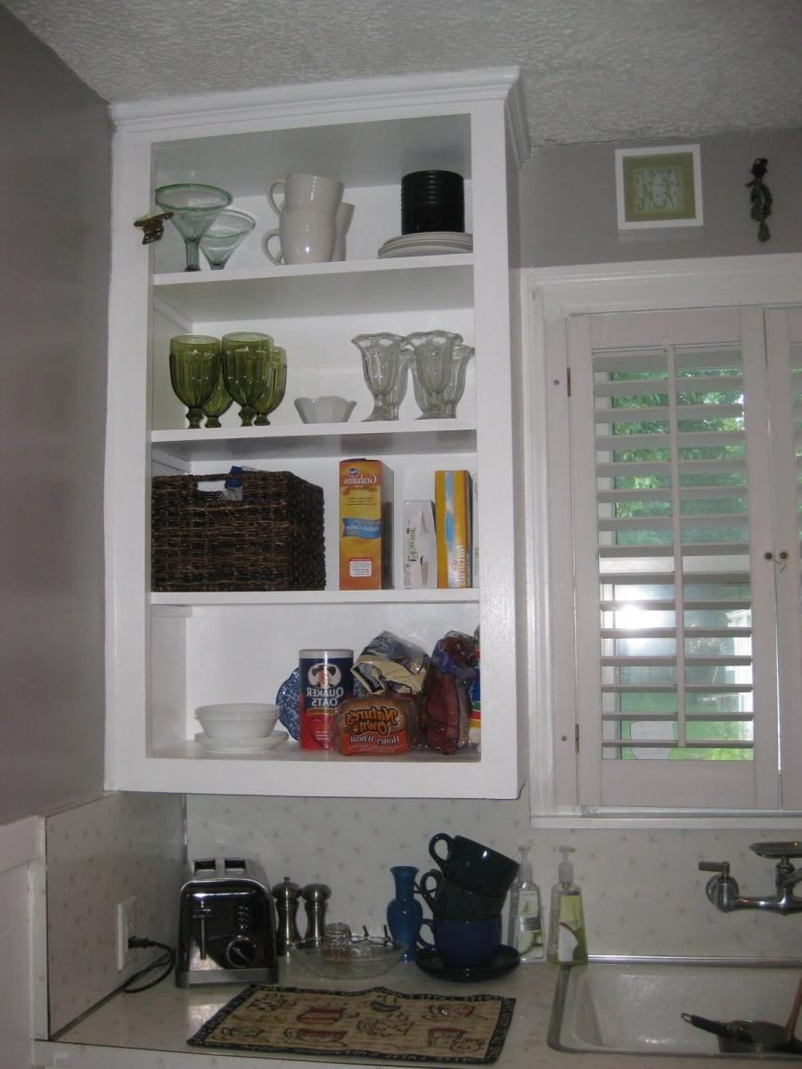 to hold our few items that are stored in our cabinet. They will...