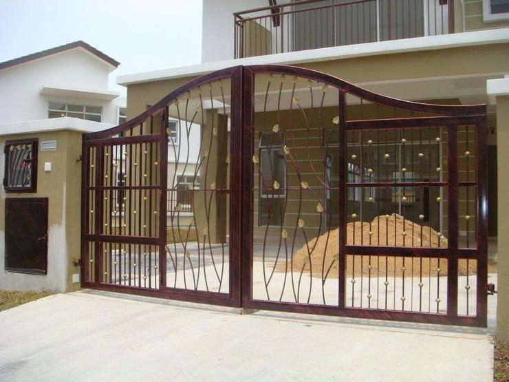 Home front gate design photos for Front gate designs for homes