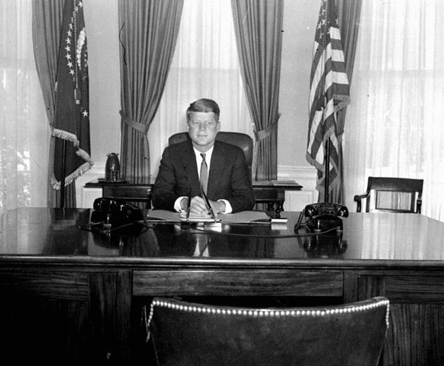 Kennedy Desk Photo