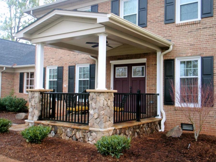 House portico photos for Portico porch designs