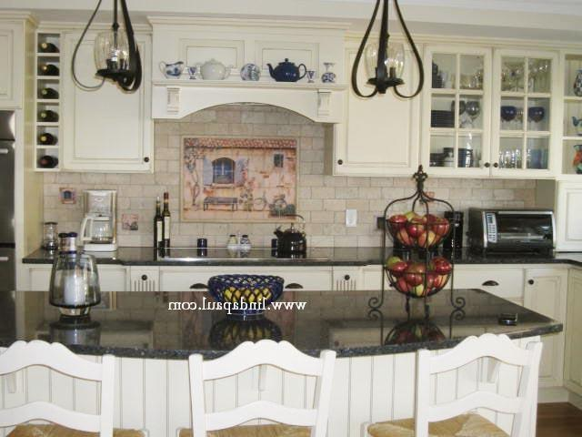 Love This Kitchen With Our French Country House Mural White