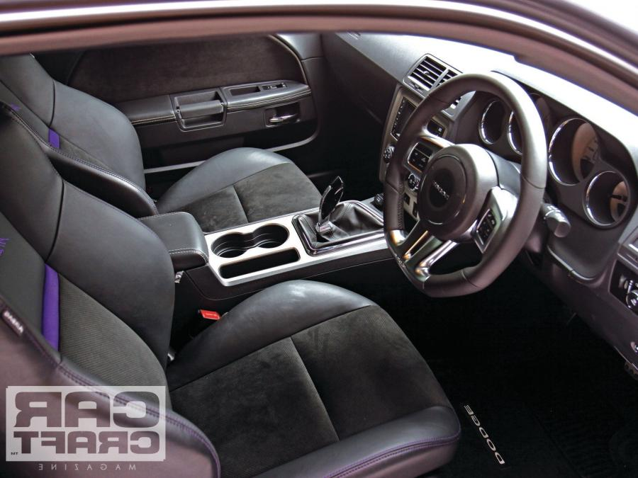 2012 Dodge Challenger Interior Photos