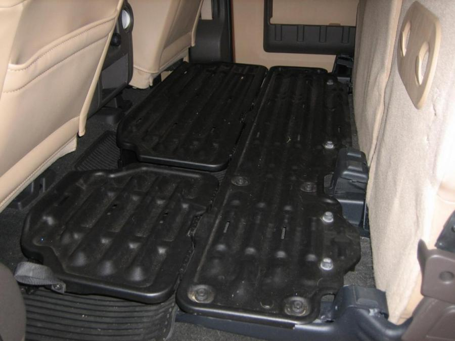 Dodge Ram Quad Cab >> Folding flat load floor storage dodge photo