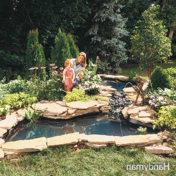 how to build a water garden stream summary the family source