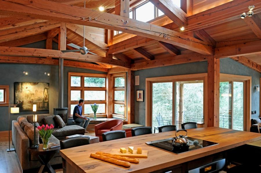Interior Design Custom Timber Frame Homes Source