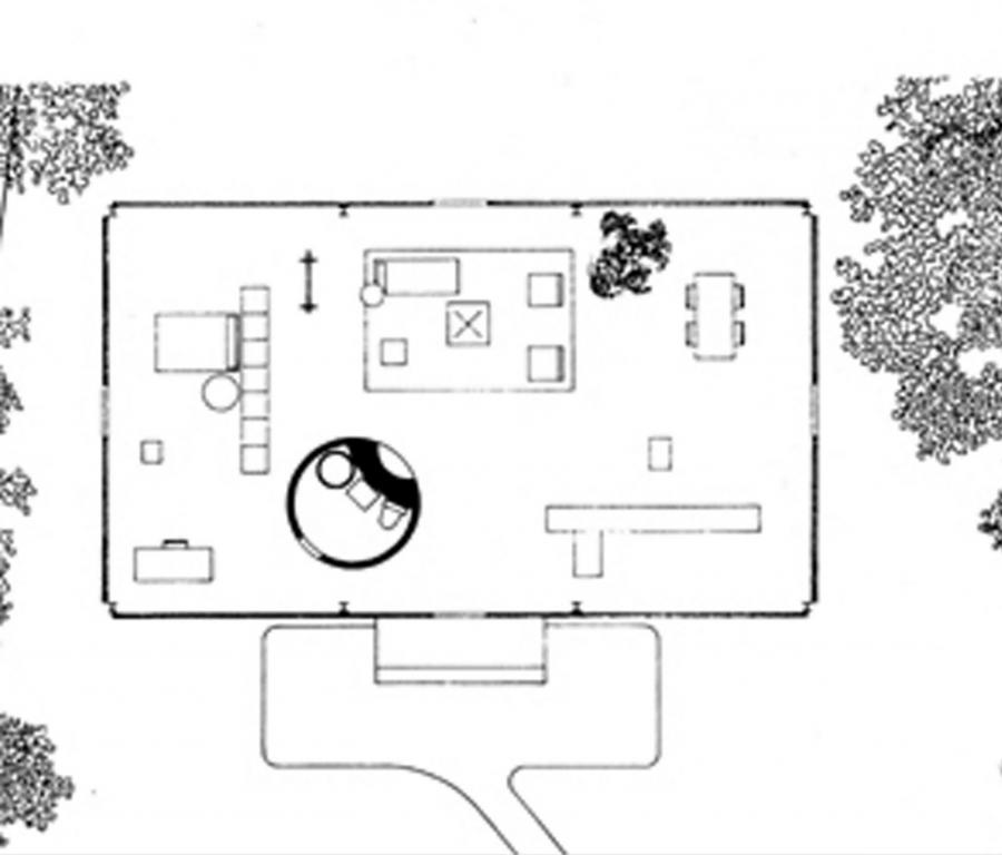 philip johnsons glass house photos. Black Bedroom Furniture Sets. Home Design Ideas