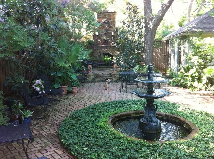 New Orleans Courtyard Gardens   Bing Images