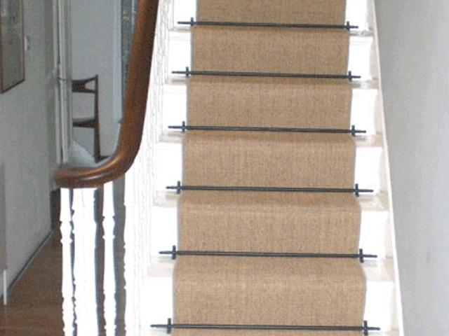 Modern Stair Runner Rods: Photos Of Carpet Runners On Stairs