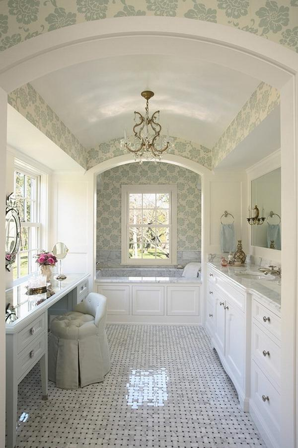 Awesome Plan For Creative Astonishing Traditional White Bathroom...