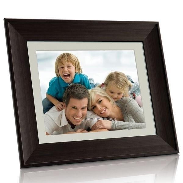 Coby digital photo frame with alarm clock