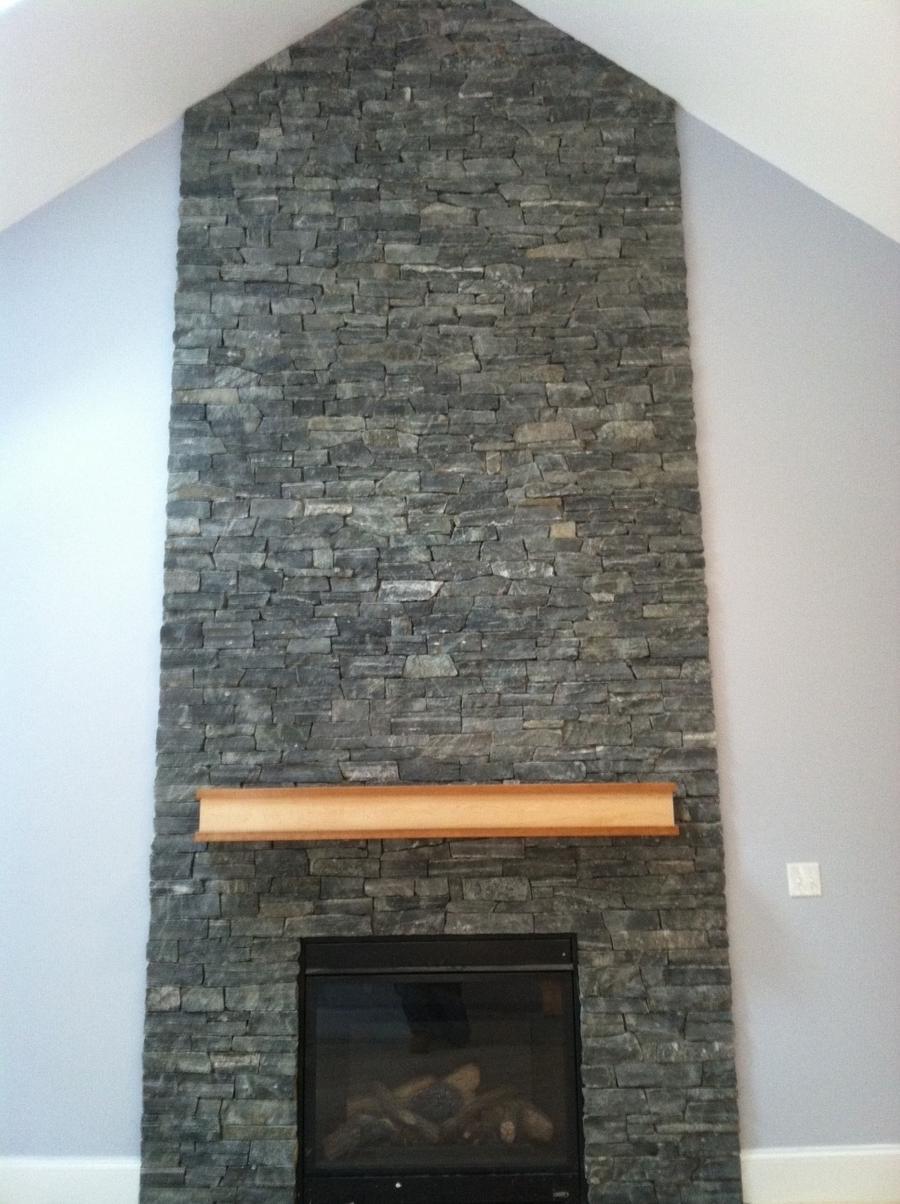 Corner Masonry Fireplace Photos