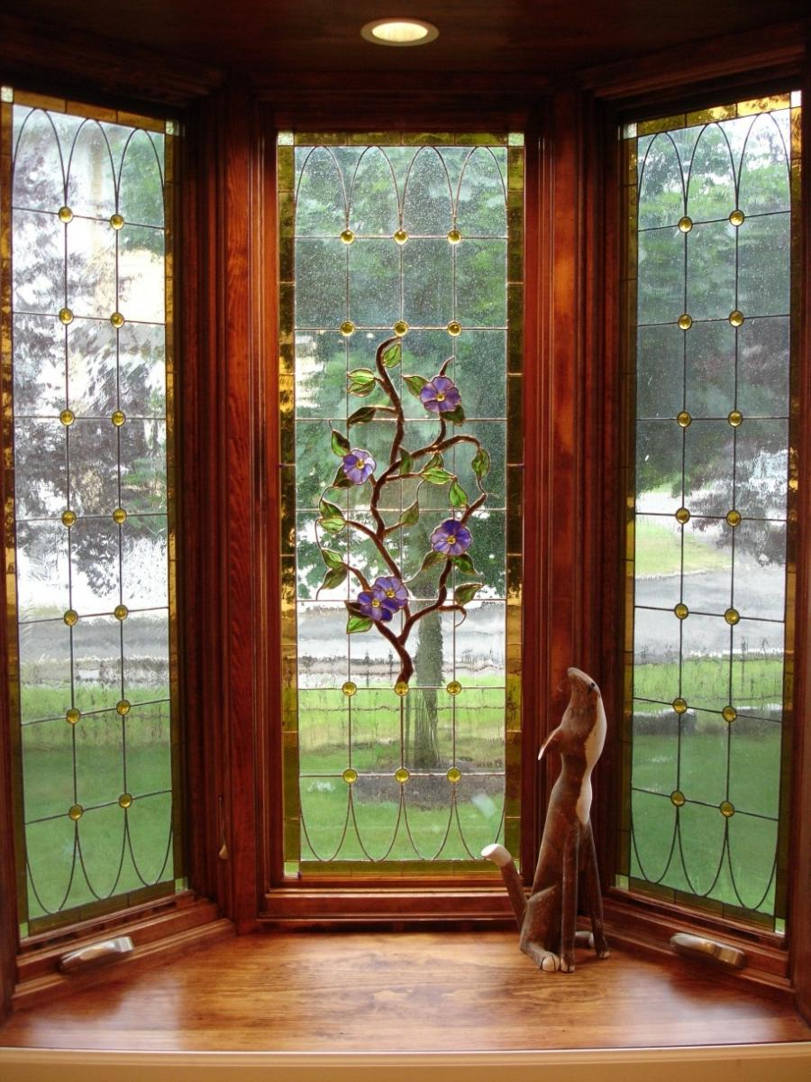 Good Bay Window Design for Wider View Outside : Bay Wooden Window...