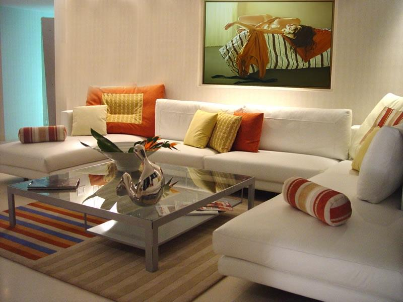 ... Marvelous Comfortable Modern Living Room Design Interior...