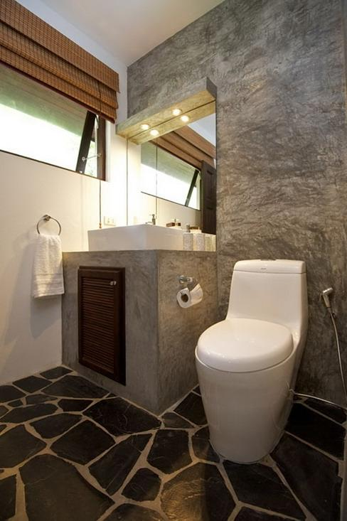 Bathroom wall photos - Decoration toilettes design ...