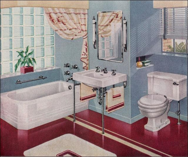 1940 bathroom photo for Bathroom ideas 1940