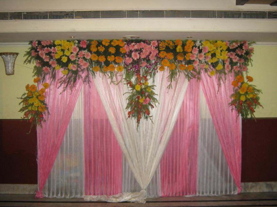 Download Wedding Stage Decoration and Gate Decoration Wallpaper...
