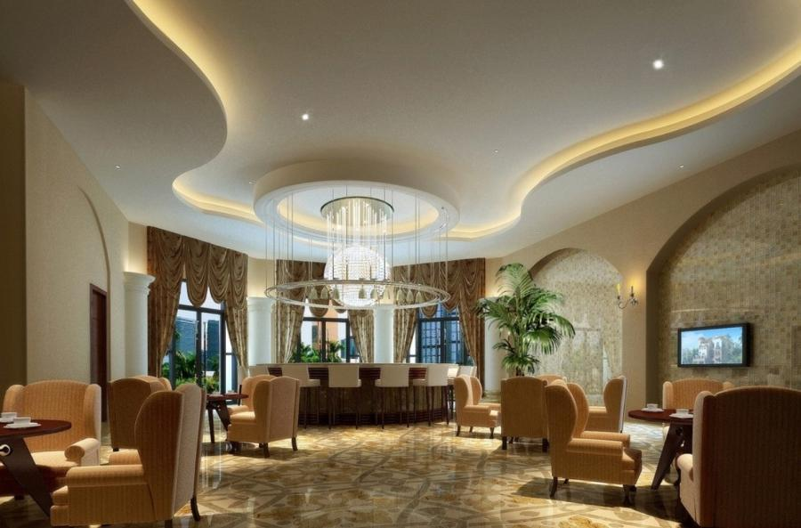 Well-designed Ceiling Styles for Better Interior Design : Upscale...