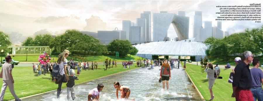 Our vision seeks to connect downtown Dallas and the Trinity River...