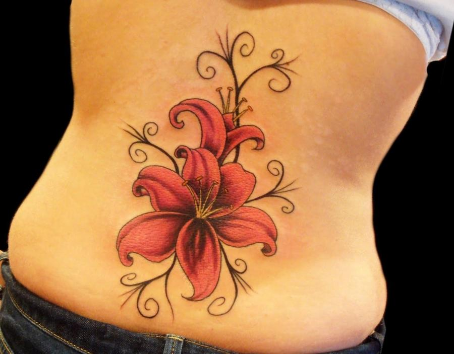 flower tattoos photos. Black Bedroom Furniture Sets. Home Design Ideas