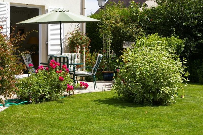 Photo decoration jardin terrasse - Construire terrasse surelevee ...