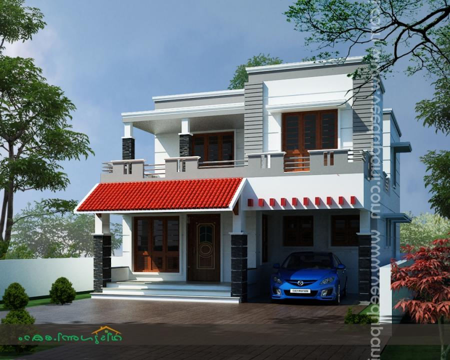 House kerala plans photos for Low cost kerala veedu plans