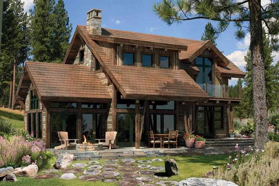 Small rustic house plans with photos for Rustic house plans with photos