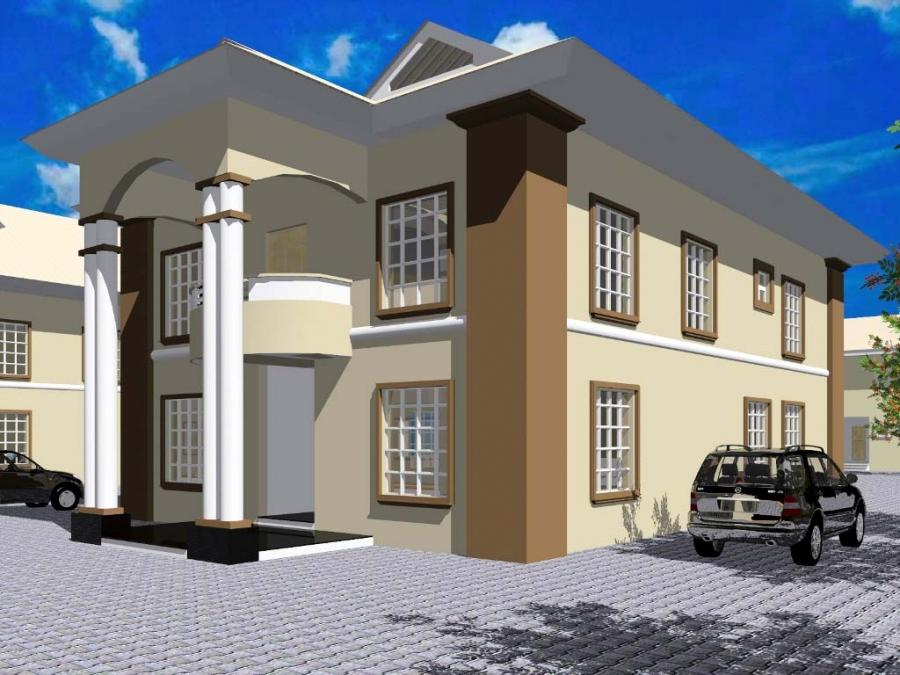 Nigerian house plans with photos for Nigerian house plans