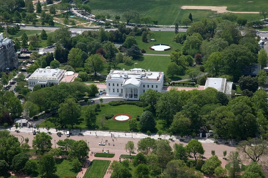 Kitchen cabinet us government - Aerial Photos White House
