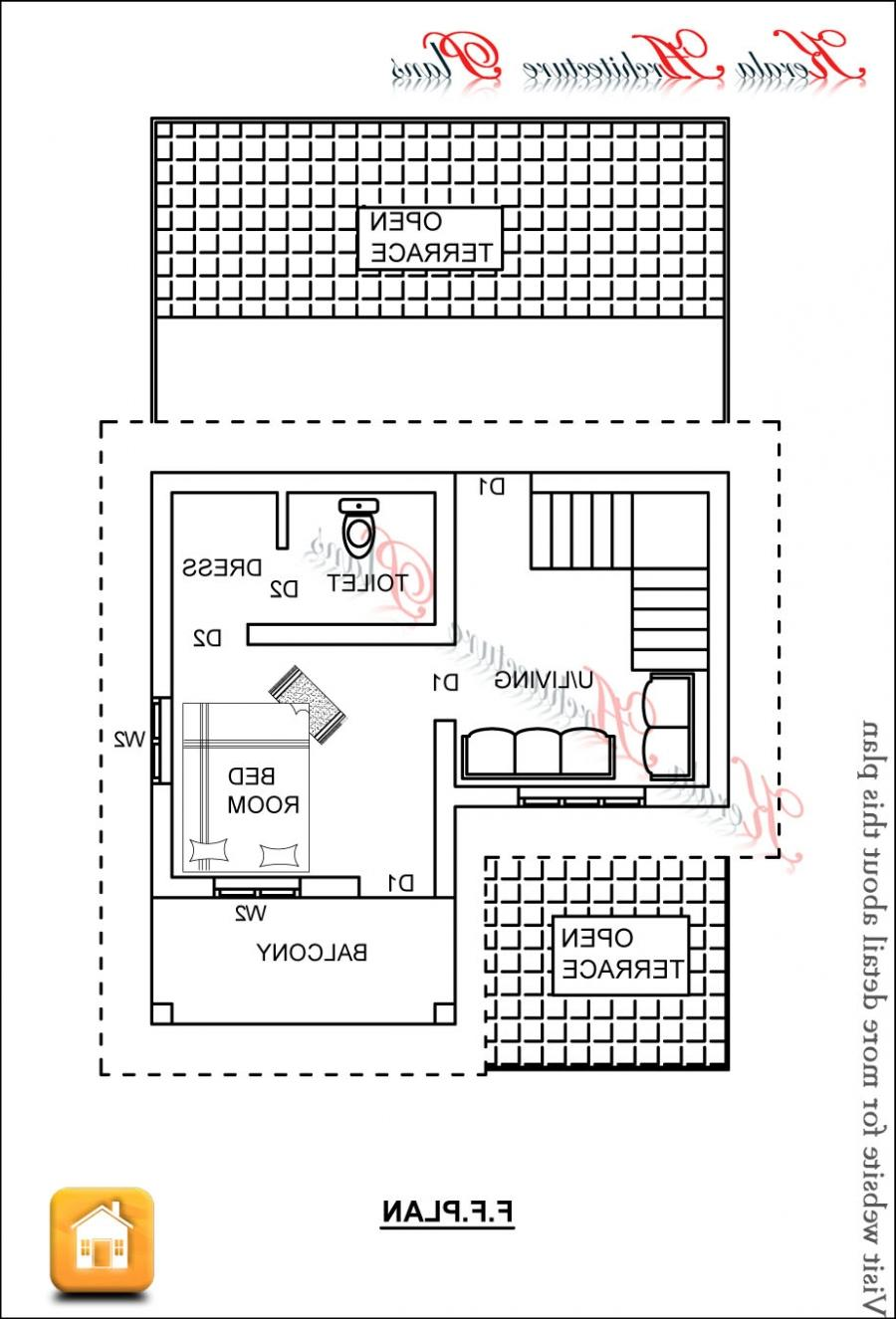 First floor plan. 1x1.trans Kerala House Plans 1200 sq ft ...
