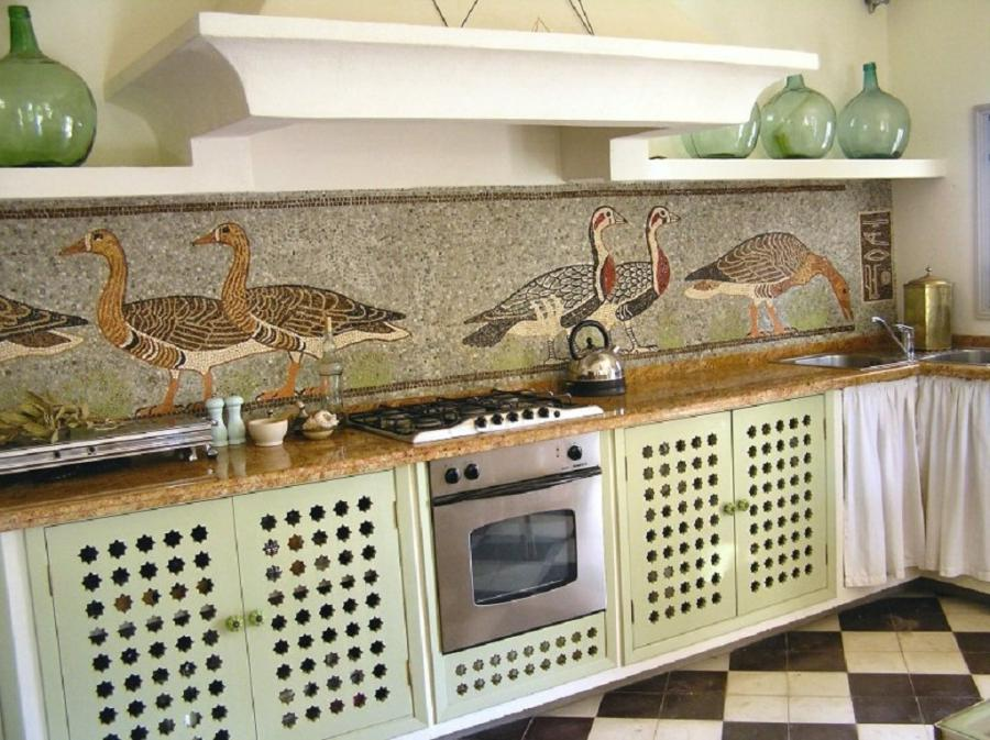 How to do backsplash tile in kitchen