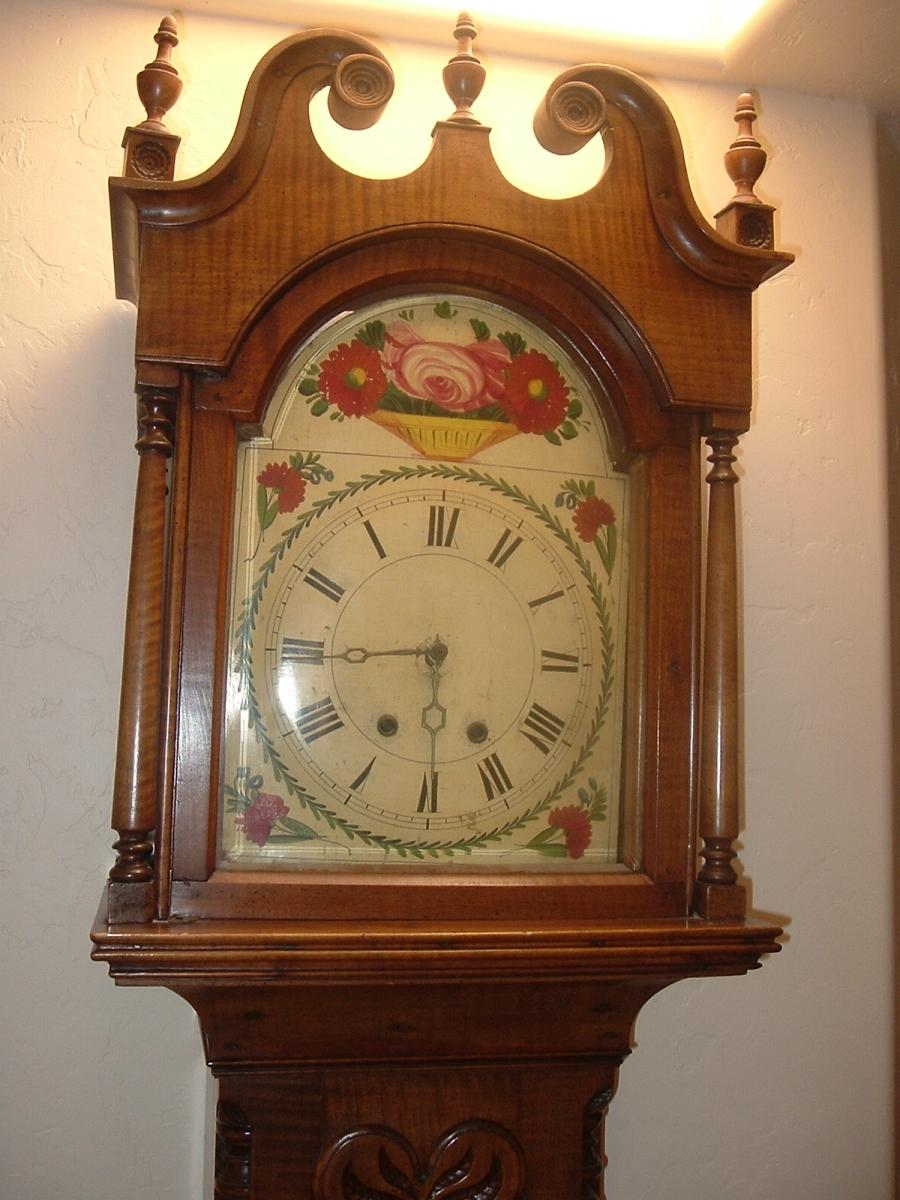 Antique Grandfather Clock Photos