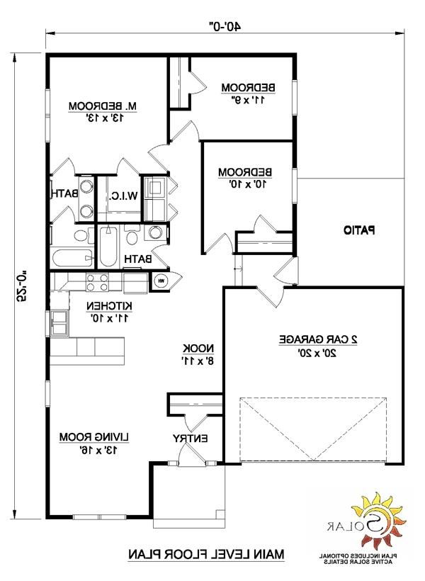 Southwestern house plans with photos for Southwest house floor plans