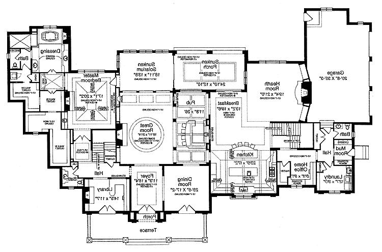 Old house plans photos for Old world european house plans